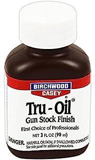 トゥルーオイル 90ml 輸入品 Birchwood Casey Tru - Oil 木製ストック仕上げ剤 銃床仕上げ剤 ストックオイル ワックスオイル オイルワックス