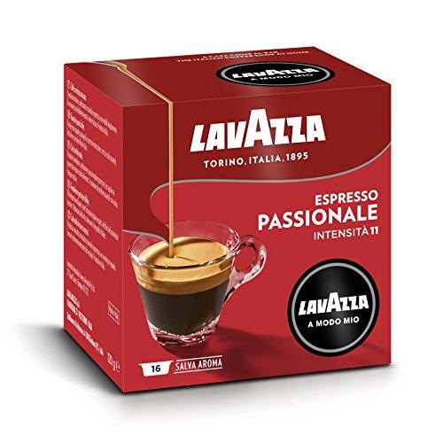 Lavazza A Modo Mio Espresso Passionale, 1 x 16 Kapseln