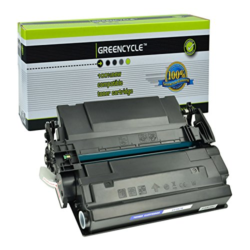 GREENCYCLE 1 Pack Compatible Toner Cartridge Replacement for CF287X 87X use in Laserjet Enterprise M501dn M506dn M506n M506x MFP M527 Series, 18000 Pages High Yield Black