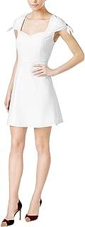 kensie Tie Sleeve Fit Flare Dress