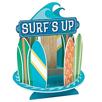 Surfs Up Party Centerpiece Decoration  foam  Birthday and Party Decor