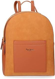 Lorain Mochila Porta Tablet, color Naranja (Ocre)