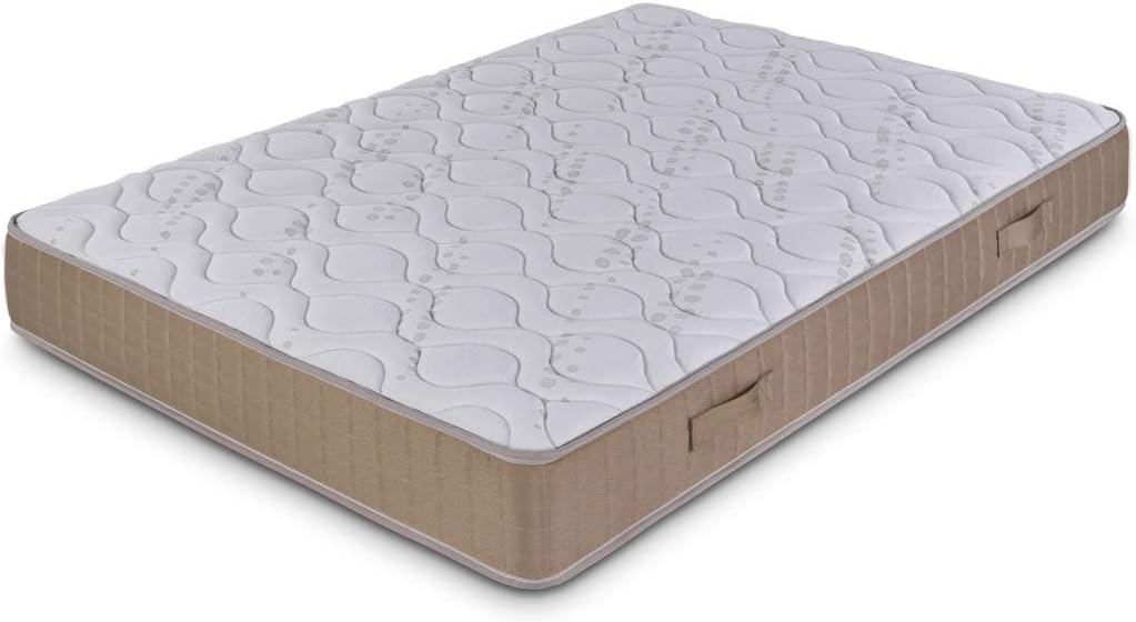 Dormidán - Colchón articulado viscoelastico Ergo Fresh, Tejido Stretch, Medida 135 x 190 cm