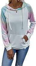 Tbylf Lente en herfst mode print batik casual losse grote pullover hoodie dames pullover hoodie pullover pullover pullover