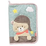 Fehn 060461 - Funda para cartilla materna con diseño de oso En bonito diseño – Organizador durante el embarazo y después – Tamaño: 23 x 16 cm.