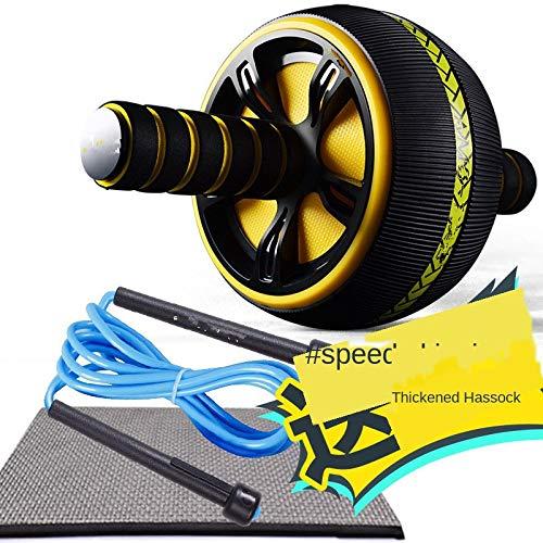 Ab Roller für Kernmuskeltraining und Bauchübungen Home Fitness Fitness Bauchübungsräder mit Knieschützern und Springseil
