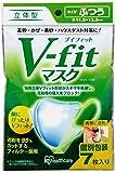 アイリスオーヤマ Vフィット立体マスク ふつうサイズ 個包装 7枚入 NVK-7RM