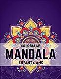 coloriage mandala enfant 6 ans: Grand livre de coloriage de mandala pour adultes et enfants avec des coloriages de mandala faciles et relaxants