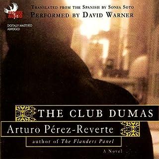 The Club Dumas audiobook cover art