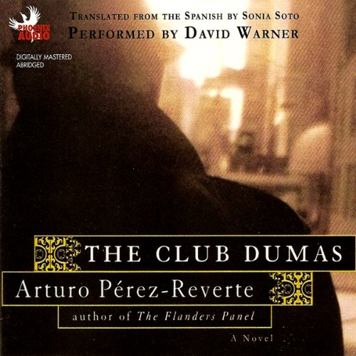 The Club Dumas audiobook cover art
