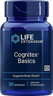 Life Extension Cognitex Basics (Brain Health Formula), 30 Softgels