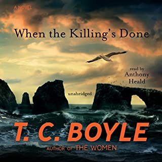 When the Killing's Done audiobook cover art