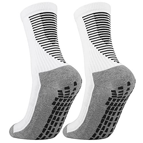 Cooraby Anti Slip Football Socks Non Slip Athletic Socks Basketball Socks...