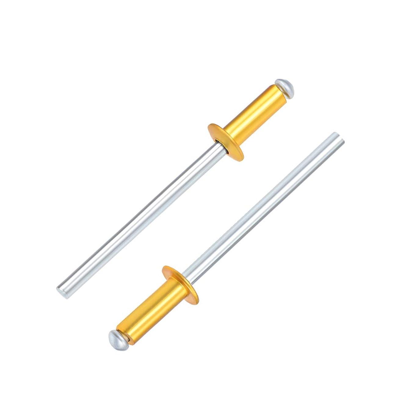uxcell Aluminum Pop Rivets,1/8
