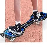 MJY Skateboard 34 'X 8' Caster Board2 Rad Radical Intensive Acceleration Waveboard , Tragbares leichtes Skateboard mit 360-Grad-Caster Trucks und rutschfester konkaver Plattform für Kinder ab 8 Jahre - 4