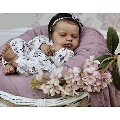 XIANZI 2021 Reborn Dolls - Muñecas de bebé y niño pequeño, realistas, 20 pulgadas, sin pintar, sin acabar, recién nacido, cuerpo realista, accesorio de vinilo suave