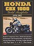 HONDA CBX 1000 GOLD PORTFOLIO 1978-1982 (Motorcycle gold portfolio series)