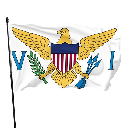 Unisex vlag van The United States Virgin IJslands vlag voor buiten, vlag, vlag, vlag 3 x 5 voeten