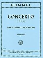 フンメル : トランペット協奏曲 変ホ長調/インターナショナル・ミュージック社ピアノ伴奏付ソロ