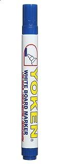 قلم سبورة بيضاء بسن مدبب من يوكين WB21 ، ازرق