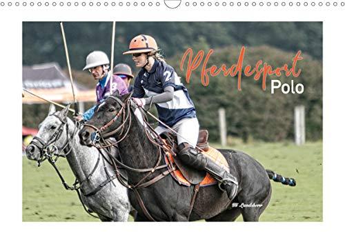 Pferdesport Polo (Wandkalender 2021 DIN A3 quer)