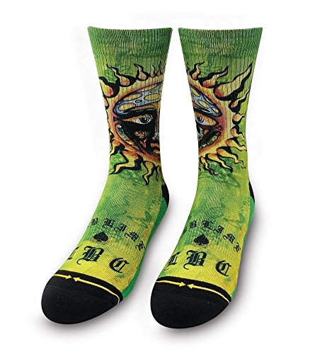 Sublime Sun Adult Men's Unisex Crew Music Band Sock