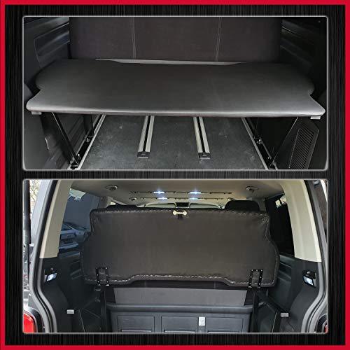 Fundas de asiento de BREMER Multivan Multiflexboard plegable compatible con VW T5 & T6 FB:D01