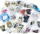 Magik 40~80 Pairs High End Quality Earrings Must-have Wholesale Jewelry Lot Various Styles and Colors (80 Pairs)