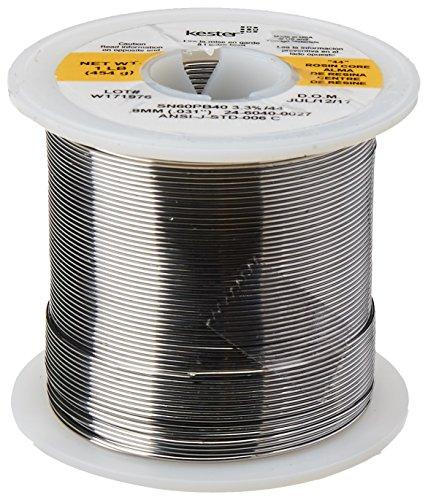 KESTER SOLDER 24-6040-0027 Wire Solder, 0.031