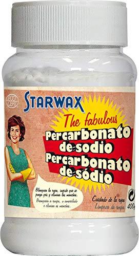 Starwax The Fabulous - Percarbonato de Sodio 400 gramos - Quitamanchas. Reaviva el Color de tus Tejidos y Recupera el Color Blanco