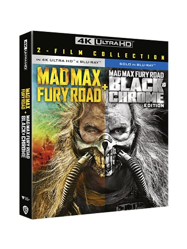 Mad Max 4: Fury Road + Black & Chrome (4K Ultra HD + Blu-Ray)