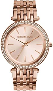 Michael Kors Women's MK3192 Analog Quartz Rose Gold Watch