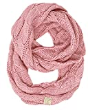 Kids Infinity Scarf - Solid Indi Pink