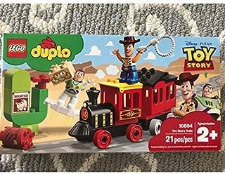 新品 レゴ LEGO トイストーリー ディズニー デュプロ 電車 ウッディ