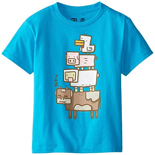 Minecraft Animal Totem Officially Licensed Authentic Youth Kids Child T-shirt