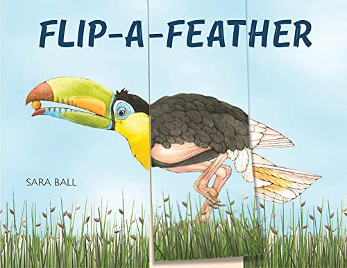 Flip-a-Feather: A Mix-And-Match Board Book (Flip and Flop)