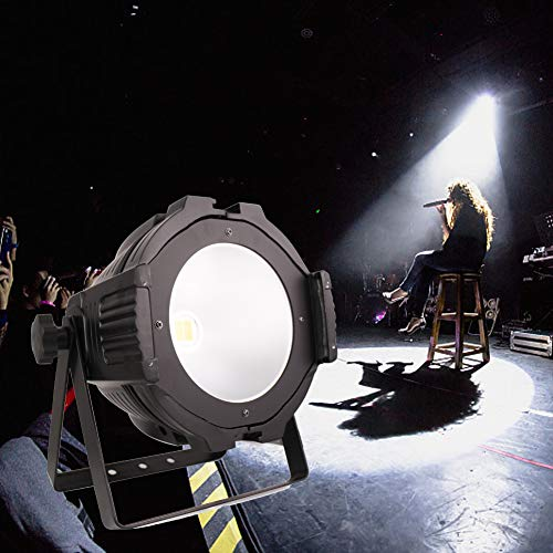 HSL White LED Stage Lights,200W COB Stage Spot Lights DMX512 Warm&Cold White for Event Production,Stage Flood Light,Theaters Light, Studio, Concert,Professional Performance Lights