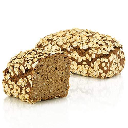 Vestakorn Handwerksbrot, Dinkelbrot 400g - frisches Brot – ohne Weizen, selbst aufbacken in 10 Minuten