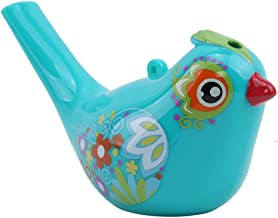 Bird Water Colorful Painted Whistles Non-toxic Warbler Chirps Baby Bath Time Fantasy Gifts Green