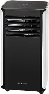 Clatronic CL 3716 3716-Aire Acondicionado portátil (aplicación Gratuita para Control WiFi, 9000 BTU de Potencia de refrigeración para Habitaciones Grandes, Incluye Kit de Ventana para sellar)