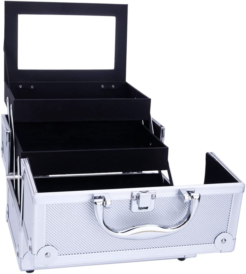 DishyKooker Makeup Box Ranking TOP10 Train Case Superior Cosmetic with Mi Portable