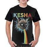 LIAM HENDERSON Kesha T Shirt Men Baseball Short Sleeve Shirt ClassicSports Tshirts Black