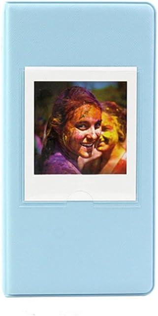Álbum de fotos JXE con 64bolsillos formato libro para fotos de cámara instantánea Fujifilm Instax Square SQ10