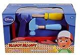 Simba Dickie 100004703 Eichhorn - Handy Manny, Mesa de Trabajo y Caja de Herramientas (Madera, Accesorios incluidos, 19 Piezas, 24 x 15,5 x 12 cm)