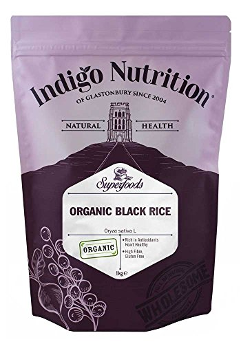 Indigo Herbs Arroz Negro Orgánico 1kg