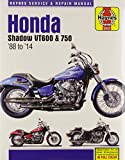 Honda Shadow VT600 and VT750, 600cc and 750cc from 1988 thru 2000 (Owners Workshop Manual)