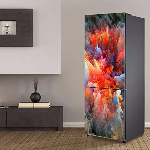 LXJ-LD Frigorífico 3D Wallpaper Pegatinas Cubiertas
