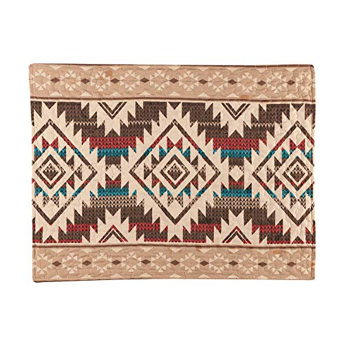 Check Out This Collections Etc Southwest Geometric Aztec Pillow Sham with Tribal Pattern Border - De...