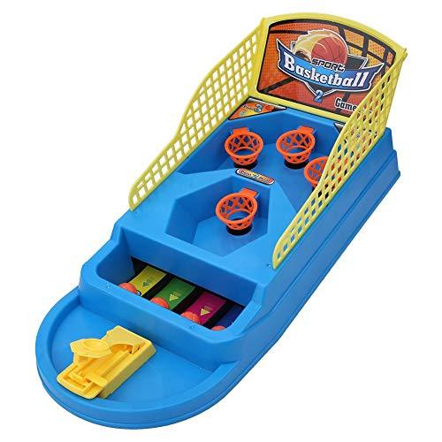 Juego de disparos de baloncesto con dedo de mesa, mini máquina de...