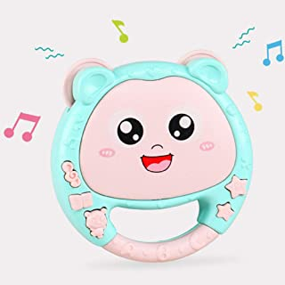 Anniston Kids Toys, Infant Baby Early Educational Hand Pat Tambourine Electric Music Rattle Toy Baby Toys Perfect Fun Time...
